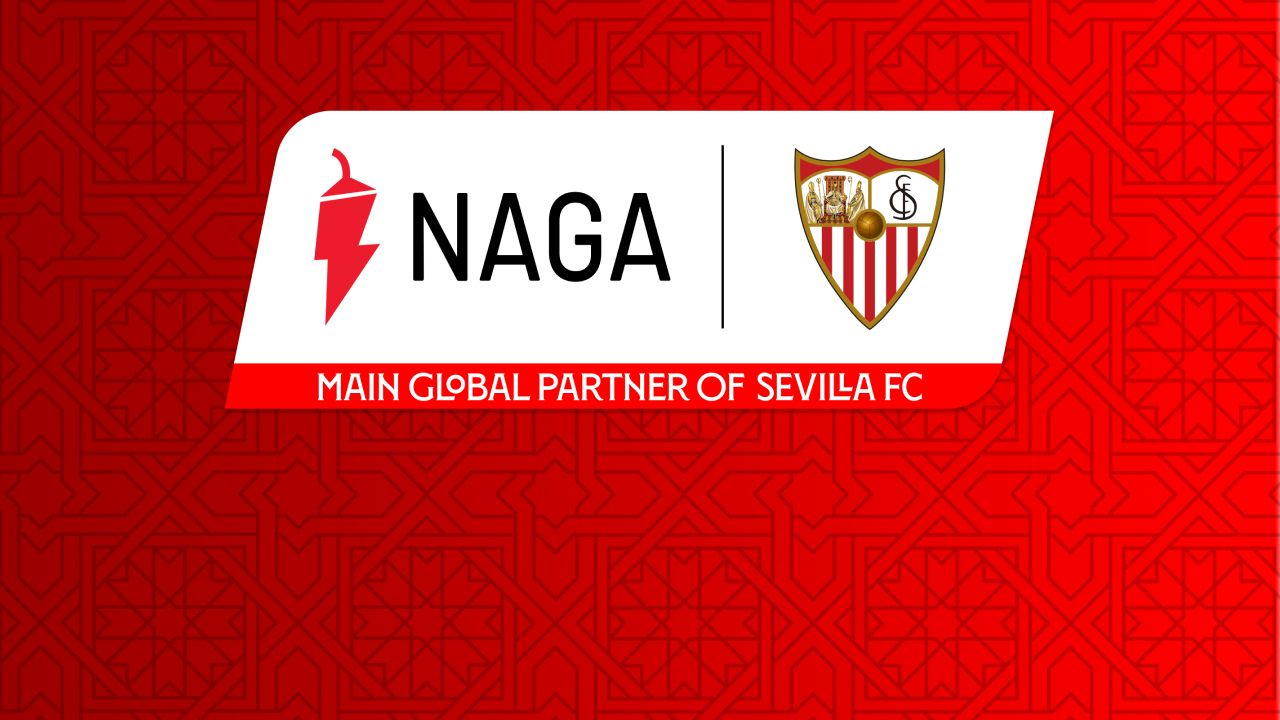 NAGA Becomes The New Primary Sponsor of Sevilla Football Club