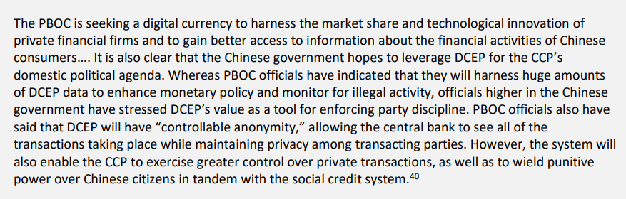 Source: Central Bank Digital Currencies: Costs, Benefits and Major Implications for the U.S. Economic System