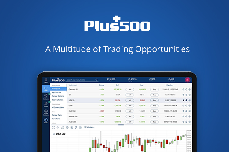 Plus500 – A Multitude of Trading Opportunities