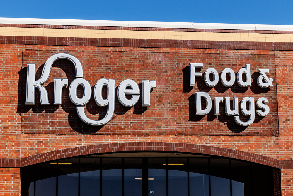 Kroger Shares Slump Over 8% After Gross Margin Disappoints in Q2