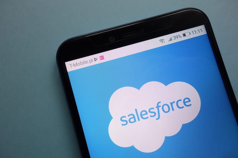 Salesforce Shares Surge After Company Lifts Revenue Guidance