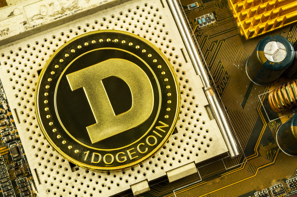 Dogecoin Tests Support At $0.2190 While Bitcoin Slips Below $45,000
