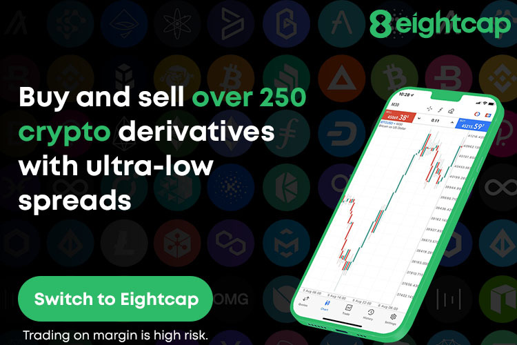 Eightcap Launches 250+ Crypto Derivatives, Positioning Itself as the Largest Cryptocurrency Offering for Retail Clients