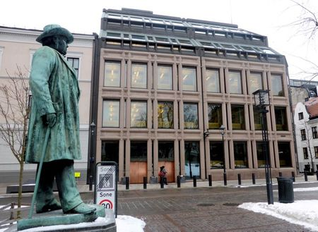 A general view of the Norwegian central bank,