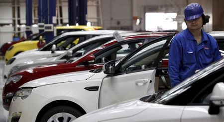 China's April Auto Sales Rise 8.6%, Up for 13th Straight Month