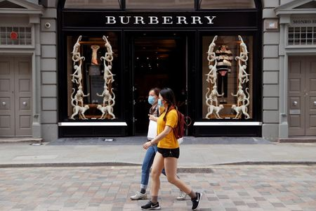 Burberry's Pandemic Recovery Accelerates