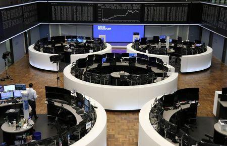 European Stocks Log Best Winning Streak Since 2006, Fourth Week of Gains