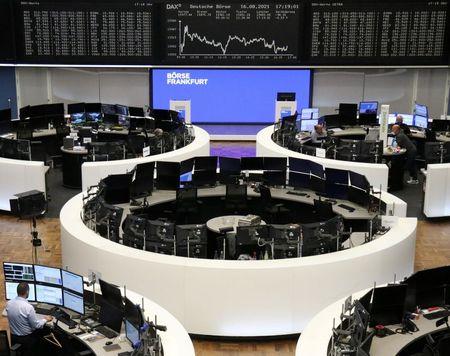 European Stocks Edge Higher After Data, Virus Worries Linger