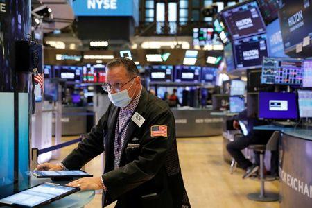 Stocks Charge Ahead on U.S. Data, Dollar Eases Ahead