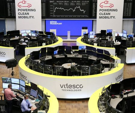 German Shares Slump 2%, European Index Hits Two-Month Lows