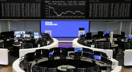 European Shares Rise as Investors Shake Off Virus, Inflation Fears