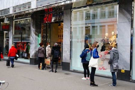 Fashion Giant H&M's Sales Recover in March as Stores Reopen After Lockdowns