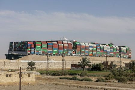 Global Supply Lines Struggle to Clear Container Backlog After Suez Chaos