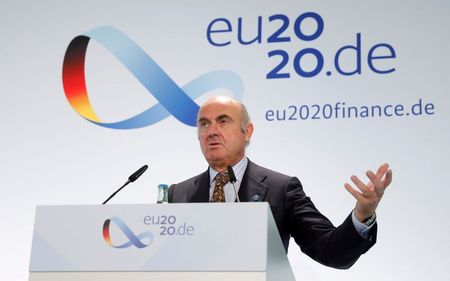 EU finance and economy ministers hold informal meetin