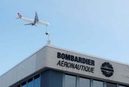 Bombardier Sees First-Quarter Business Jet Revenue Ahead of Street Estimates