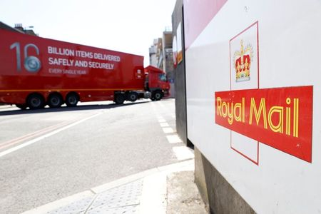 Royal Mail Says UK Parcel Volumes Slide as Restrictions Ease