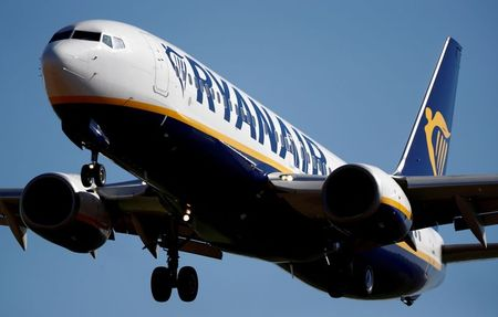 Ryanair Nudges Up Annual Traffic Forecast, First-quarter Loss Smaller Than Expected