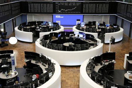 German share price index DAX graph is pictured at the