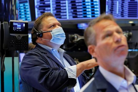 Dow, S&P Close at Records as Disney Offsets Drop in Sentiment