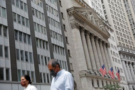 Wall Street Ends Sharply Lower in Broad Sell-Off