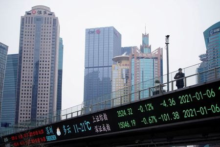 Asian Shares Push Higher, Dollar Eases