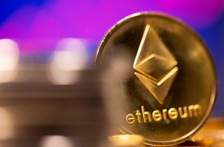 Ethereum Extends Gains to Rise 8%; Bitcoin Firms