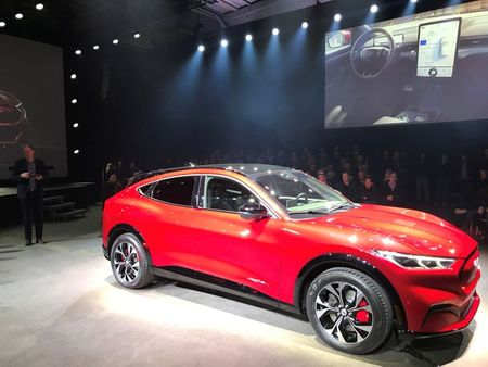 Ford's Electric Mustang Tops Norway Car Sales in May