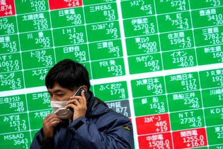Asia Shares Hesitate, China Imports Underpin Resources