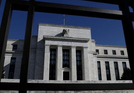 FILE PHOTO: Federal Reserve Board building is pictured in Washington