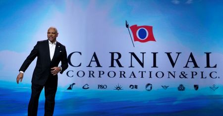 Cruise Operator Carnival to Sell $500 Million in Shares