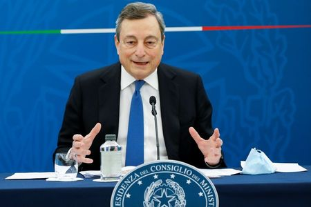 Draghi Says Deal Reached with EU on Italy's Recovery Plan
