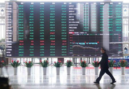 Asia Shares Extend Gains on Supportive Fed, Biden's Stimulus