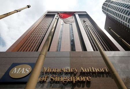 A view of the Monetary Authority of Singapore's headquarters in