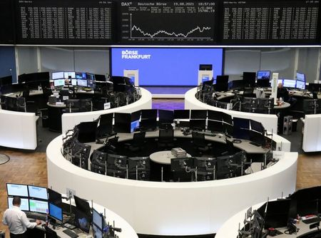 European Shares End Higher on Commodity Recovery After Bruising Week