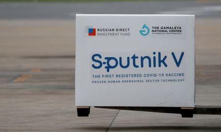 FILE PHOTO: A shipment of Sputnik V vaccine,