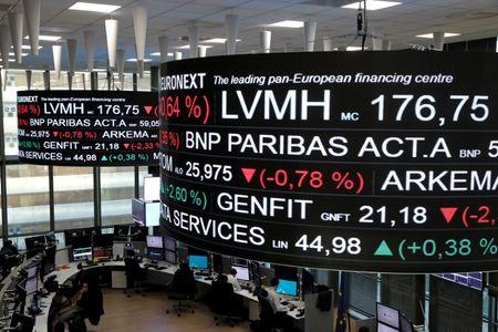 Bolsa de Valores de Paris, no distrito empresarial de La