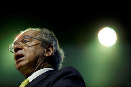 Ministro da Economia, Paulo Guedes, participa de seminário em Brasília