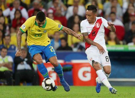 Brasil e Peru fizeram final da Copa América de 2019