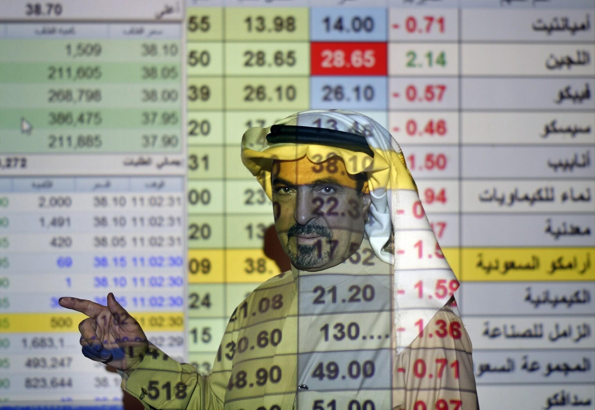 """التحليل الفني : مؤشر سوق الأسهم السعودي """"تاسي"""" على وشك اختبار مستوى مقاومة محوري"""
