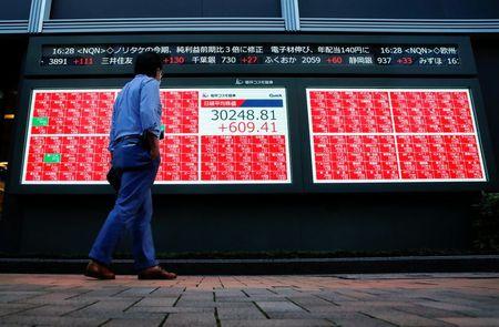 نيكي يهبط نحو 2% بفعل مخاوف الانتخابات وإيفرجراند الصينية