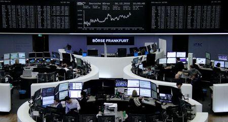 أسهم أوروبا تتراجع متأثرة بأزمة إيفرجراند ونتائج متفاوتة للشركات