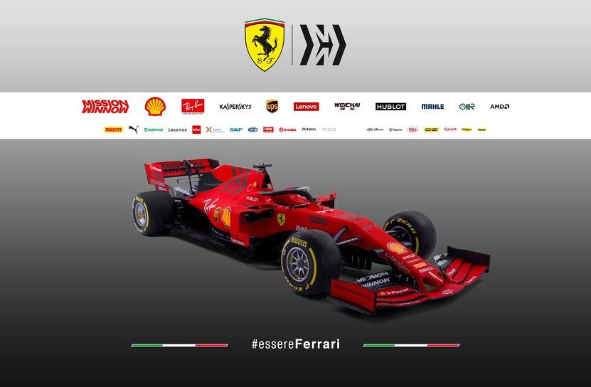 EightCap se joint à Scuderia Ferrari pour la saison 2019 F1®